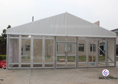 Windproof Aluminum Wall Tent Frame Steel Frame With Plating Processing